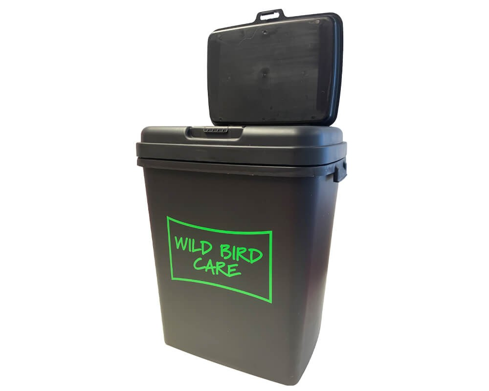 Storage Container For Wild Bird Seed