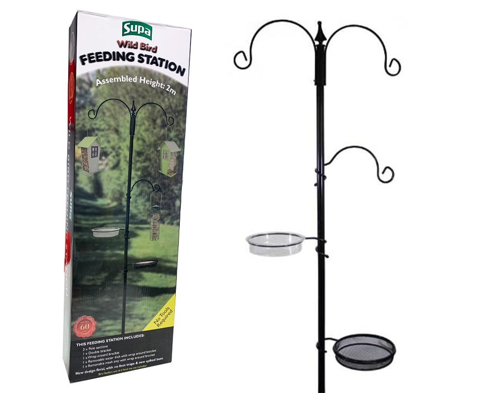 Wild Bird Metal Feeding Station