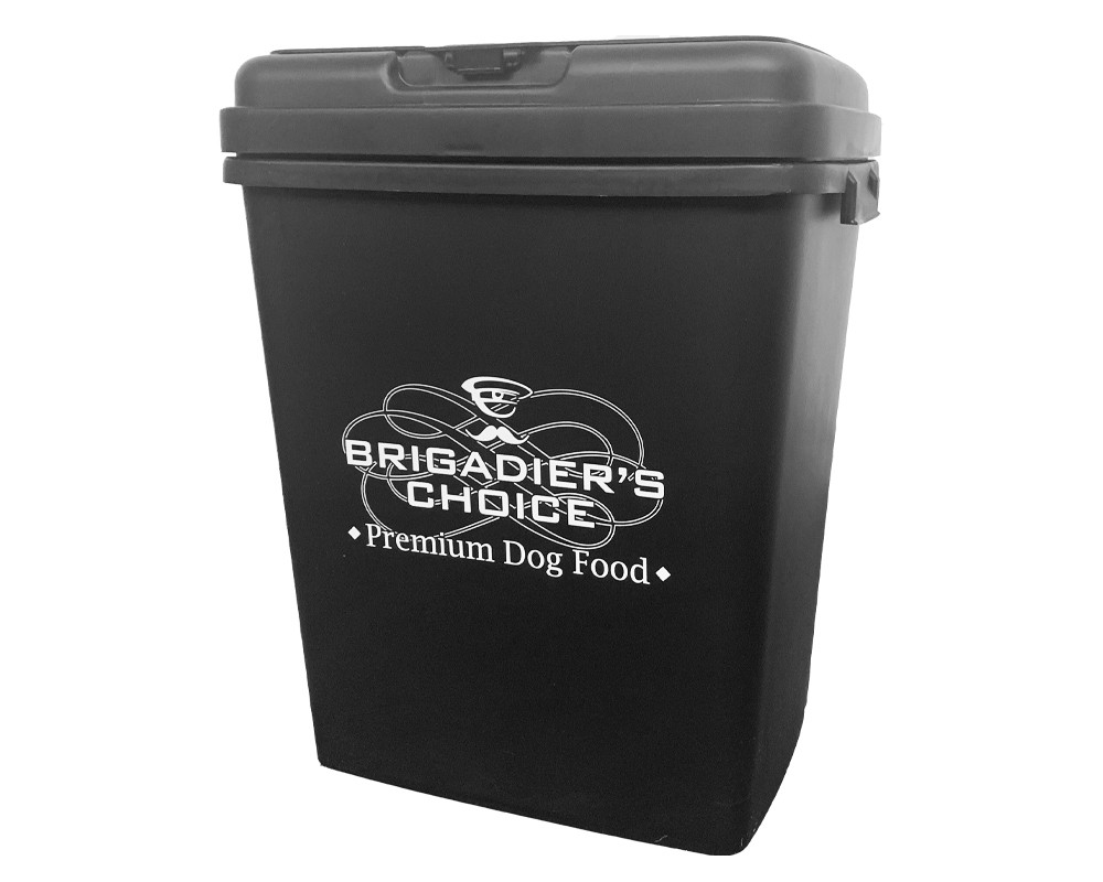 Storage Container For Dry Dog Food