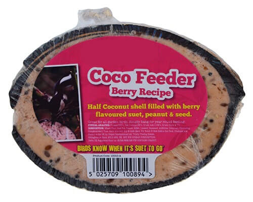 Berry Suet Half Coconut