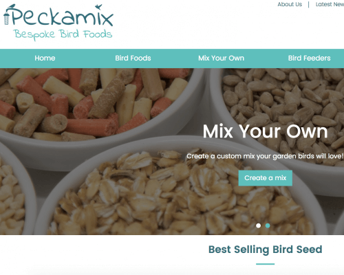 Welcome to Peckamix!